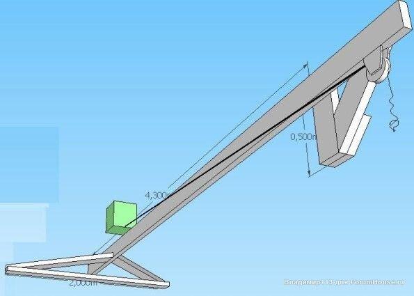 Устройство для подъема стен каркасного дома - фото pic_1d607c86c6f4a75_700x3000_1.jpg