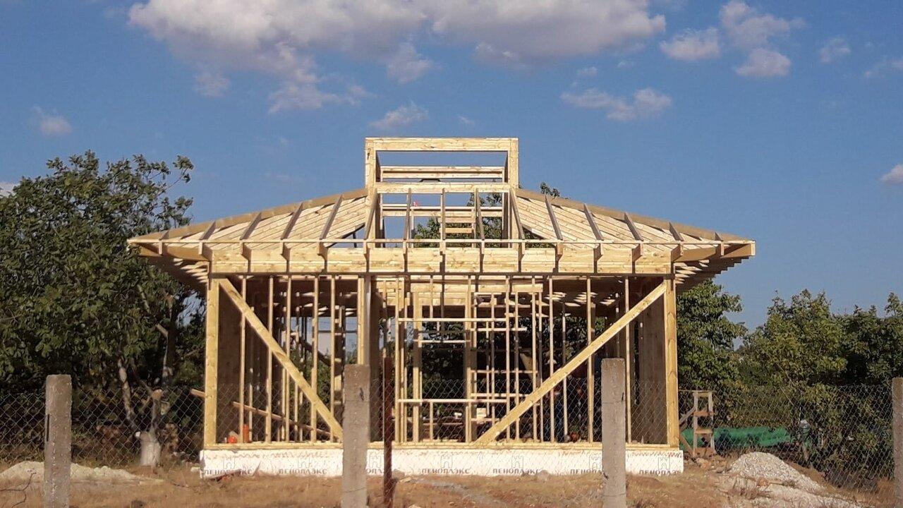 Строительство каркасных домов в Севастополе и Крыму под ключ профессионально