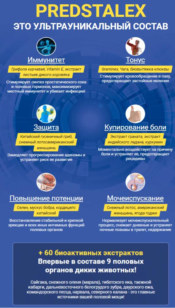 Predstalex - препарат для лечения простатита купить