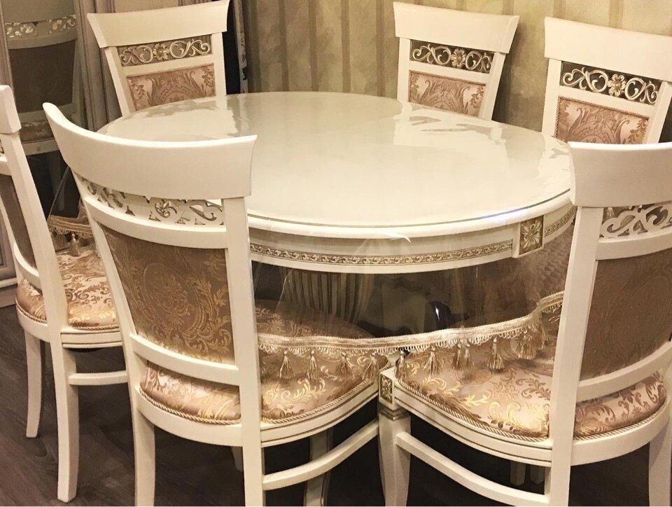 Обеденный набор Милан стол + 6 стульев - фото pic_6cca9ee7556fb509eccdcb2d76a039fb_1920x9000_1.jpg