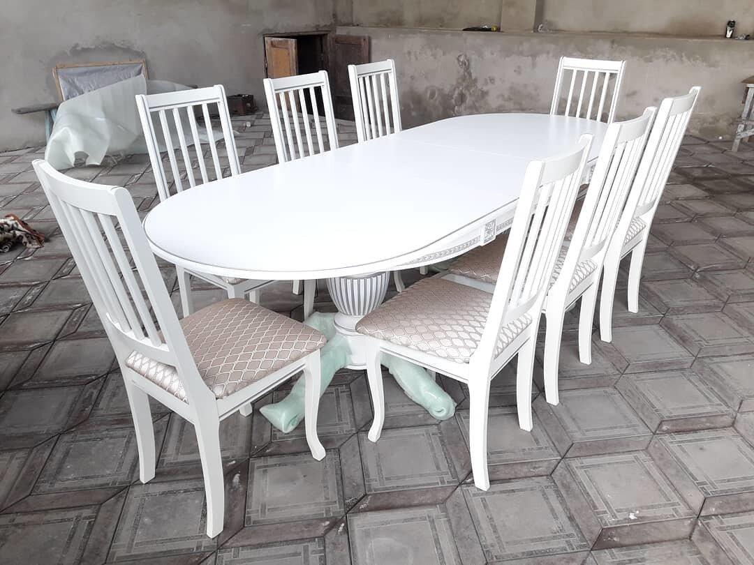 Стол 200*100 (+50) см., раздвижной 2-х тумбовый стол из массива бука Цвет: Слоновая кость - фото pic_db60400e85bb06bc2e6e5477033faf68_1920x9000_1.jpg
