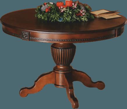 Круглый обеденный стол раздвижной Степ Диаметр: 100 (+30 ) см. 1000*1000мм цвет орех, из массива дерева бук - фото pic_ae8bba80bfa30d346fa018d92975ef68_1920x9000_1.png