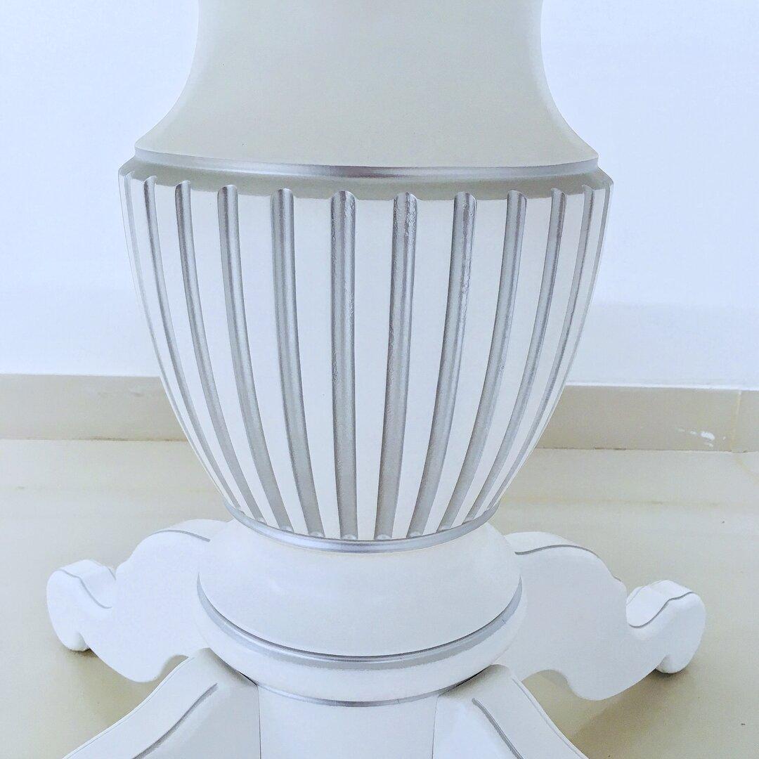 Овальный стол раздвижной из массива бука цвет: белый с серебряной патиной Размер 90*130 (+50 ) см. - фото pic_7f1953089c7f8bc8a641405d8e4b064d_1920x9000_1.jpg