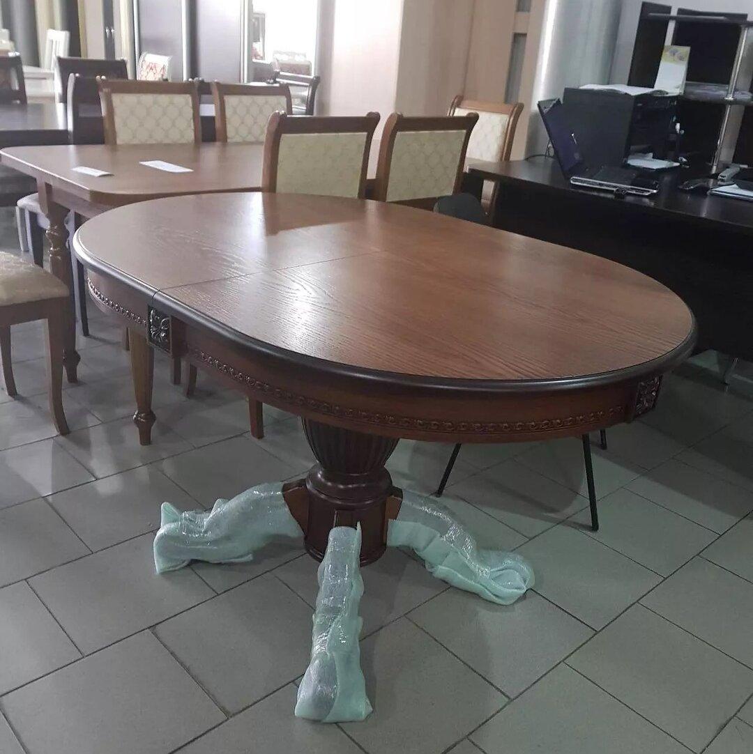 стол кухонный орех