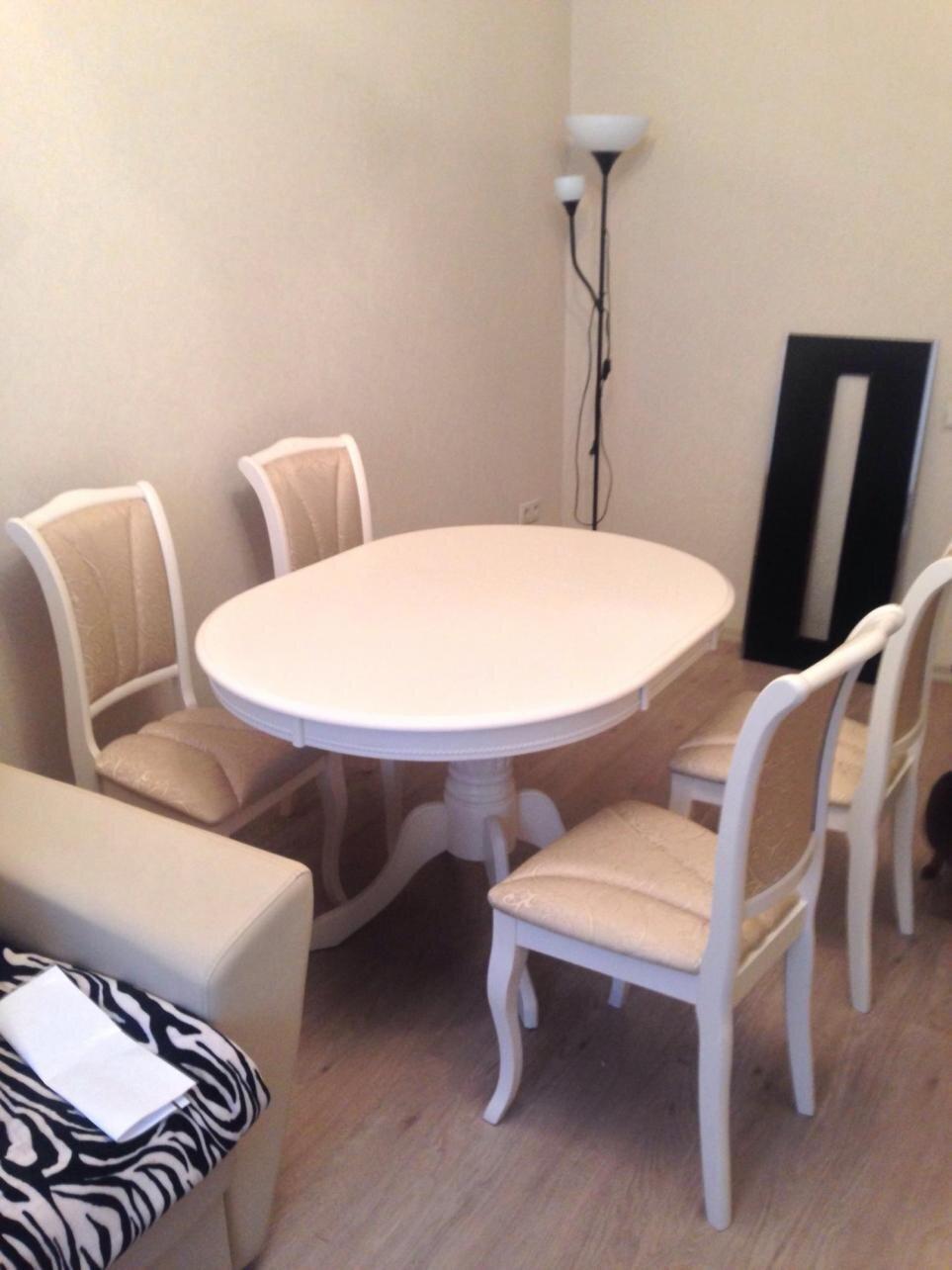 Классический обеденный набор стол и 4 стула - фото pic_28483d85f13f4f7f0173571812804382_1920x9000_1.jpg