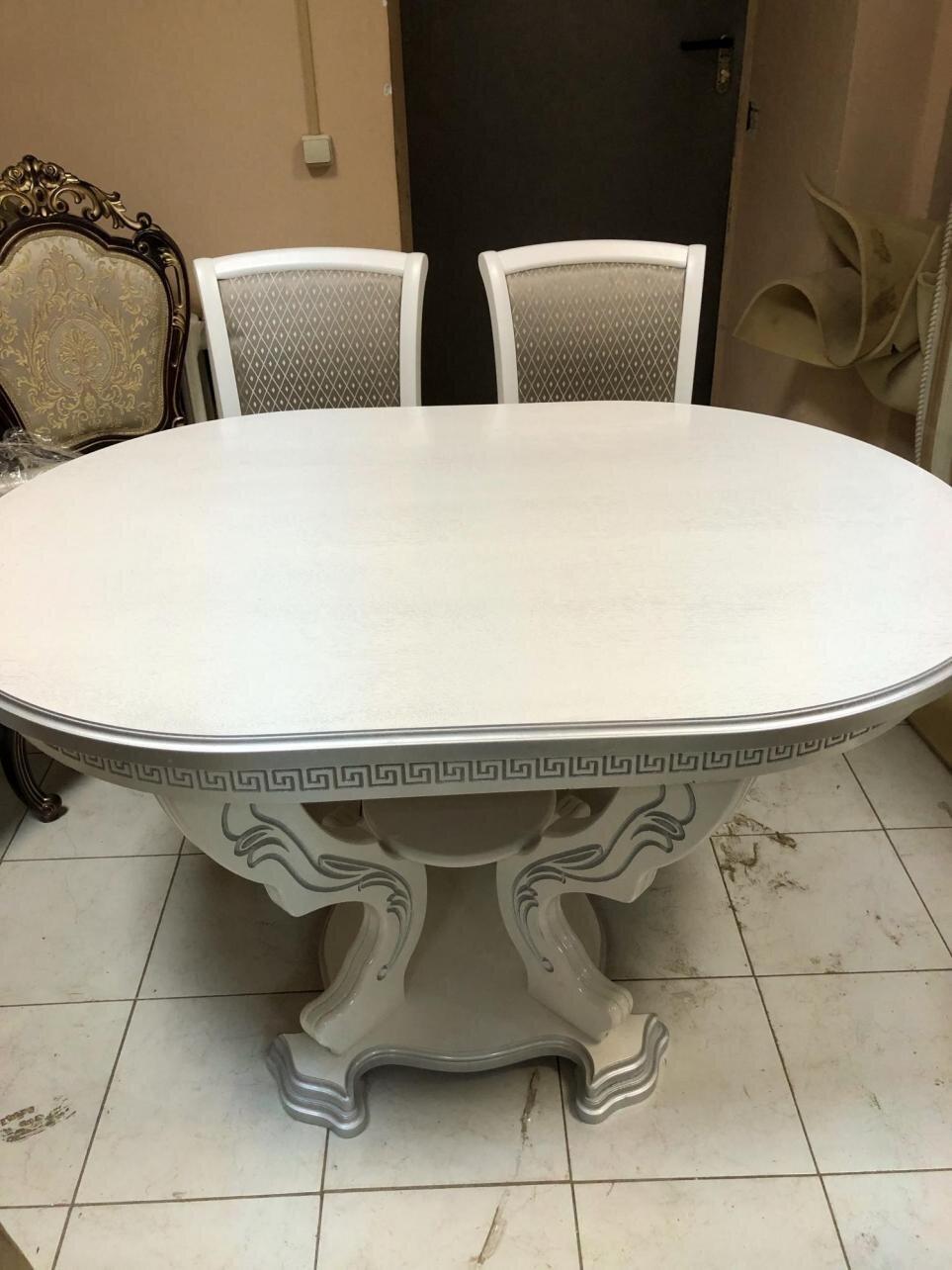 Комплект обеденный Стол 130 на 90 + 2 стула - фото pic_d06de36fd14d124c2749233217d9c2ee_1920x9000_1.jpg
