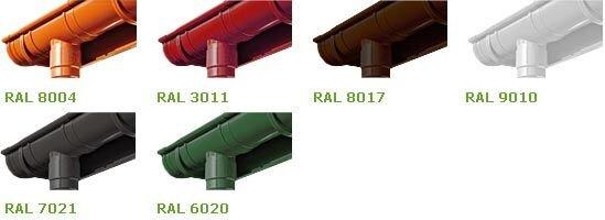 Соеденитель водосточной  трубы  BRIZA  63 мм (белый , коричневый , красный , графит) - фото pic_d3629df9eb69b15_700x3000_1.jpg