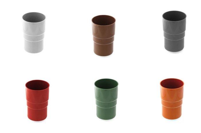 Соеденитель водосточной  трубы  BRIZA  63 мм (белый , коричневый , красный , графит) - фото pic_af3c636b6cbd6ca_700x3000_1.jpg
