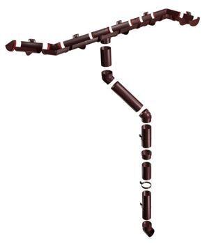 водосток шоколадный