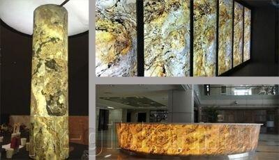 Каменный шпон натуральный TAN 122*61 см - фото 6