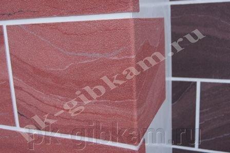 Гибкая плитка Рубин3 - 35.5*17.5 - фото 1