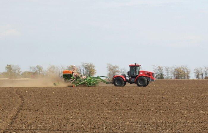 По словам крымских фермеров, сеялка Amazone DMC Primera-9000 – царица полей.