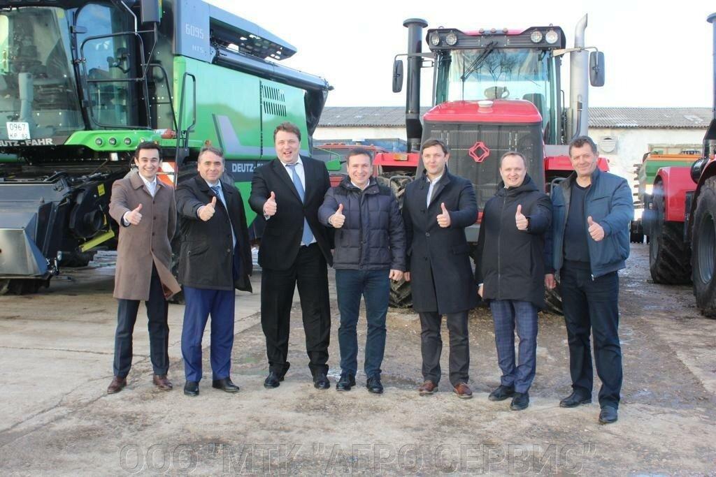 Одну из лучшихМТК страны в декабре посетила делегацияАО«Росагролизинг».