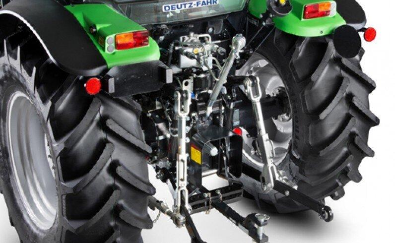 Компактный трактор DEUTZ-FAHR (Дойц) Agrofarm 115G - фото Гидравлическая система