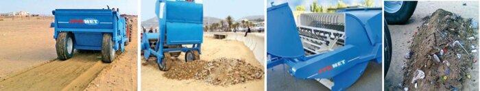 Машина для уборки пляжей AG2000 - фото Машины для уборки пляжей