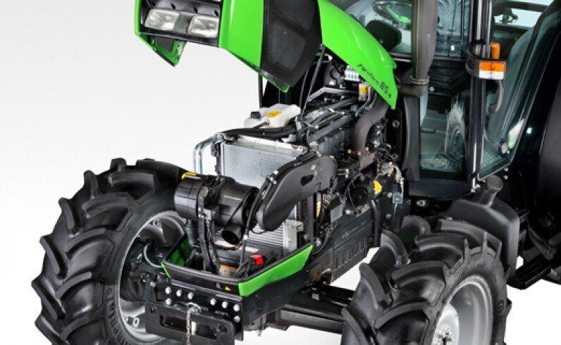 Компактный трактор DEUTZ-FAHR (Дойц) Agrofarm 115G - фото Двигатель трактора Дойц Agrofarm 115 G