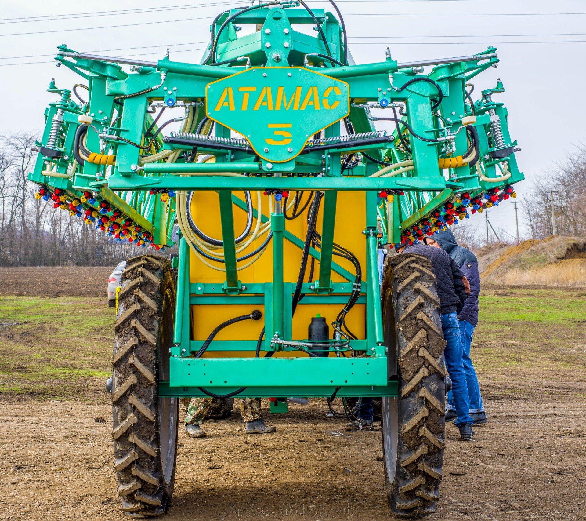 Опрыскиватель сельскохозяйственный прицепной АТАМАС с Отличительной  стабилизацией штанги - фото pic_22996c987ccb8995e74e64db38b904e2_1920x9000_1.jpg