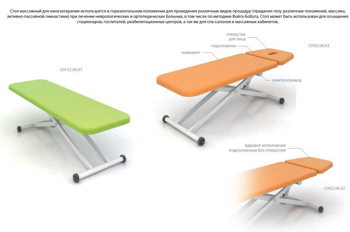 Стол для кинезотерапии BALANCE  (СН52.03) - фото pic_dbb563058c577274123079bb6ac462d8_1920x9000_1.jpg