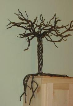 кованная дерево