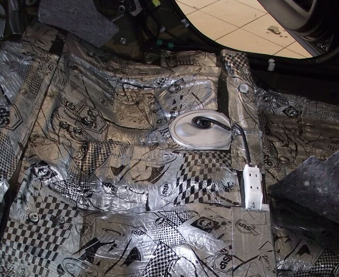 Шумоизоляция Toyota Camry - фото 8