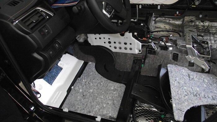 Шумоизоляция Toyota Camry - фото 7