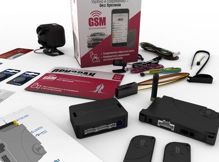 Сигнализация Призрак GSM + iDatalink - фото Призрак GSM + iDataLink