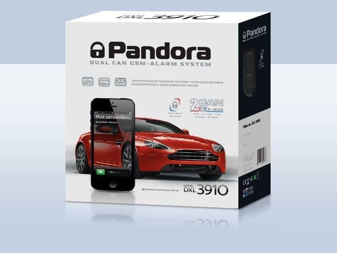 сигнализация Pandora 3910