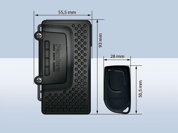 Мотосигнализация PANDORA MOTO DXL 4400 - фото 2