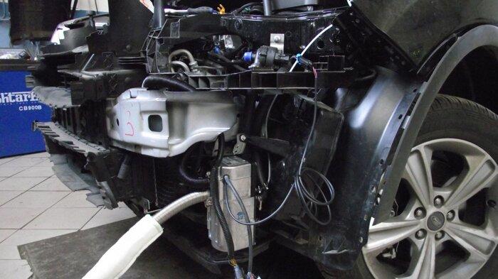 Установка Гидроник на Ford Kuga - фото 4