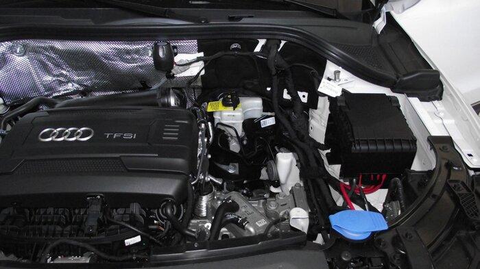 Установка Техноблок на Audi Q3 - фото 3