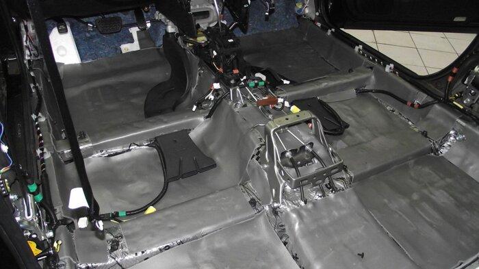 Шумоизоляция Toyota Camry - фото 14