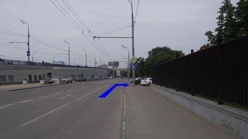 Тульская / Автозаводская - фото Съезд с ТТК