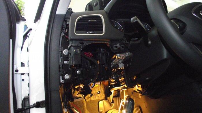 Установка Техноблок на Audi Q3 - фото 2
