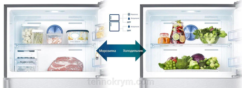 Двухкамерный холодильник Samsung RT43K6000DX с двухконтурной системой Twin Cooling Plus - фото pic_fe04a4b9aa8c07567caed9d3a1715d52_1920x9000_1.jpg