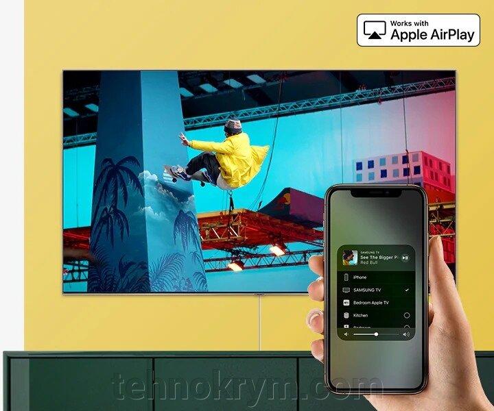 Smart QLED телевизор Samsung QE65Q60RAUXRU, Ultra HD, на квантовых точках, ОС Tizen 5.0 - фото Samsung QE65Q60RAUXRU