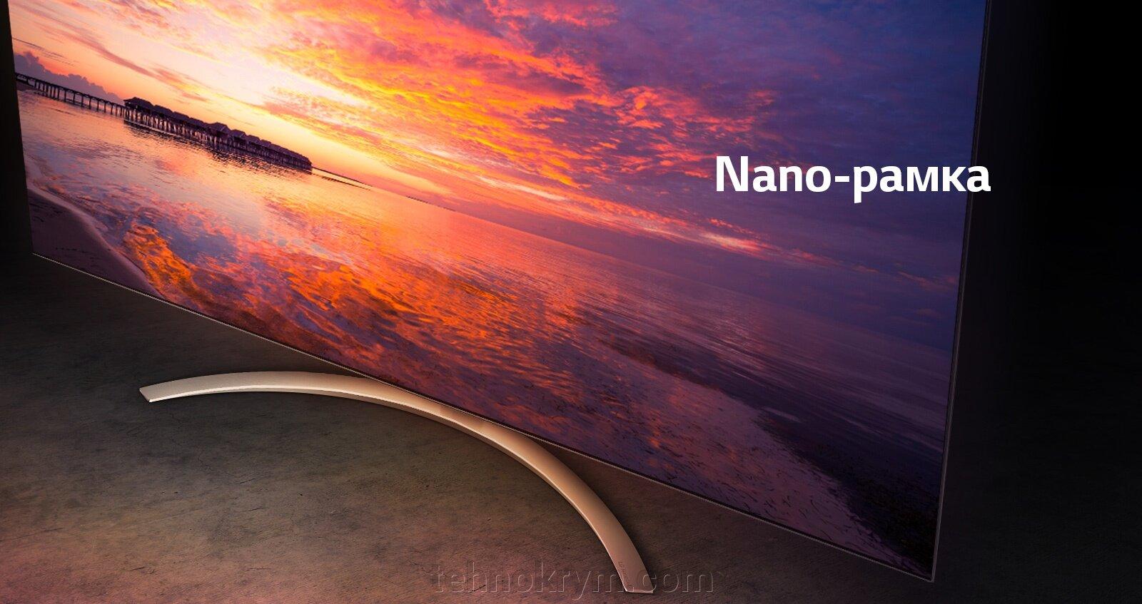 Smart телевизор LG NanoCell 49SM9000PLA, Ultra HD, черный, webOS 4.5 - фото LG NanoCell 49SM9000PLA
