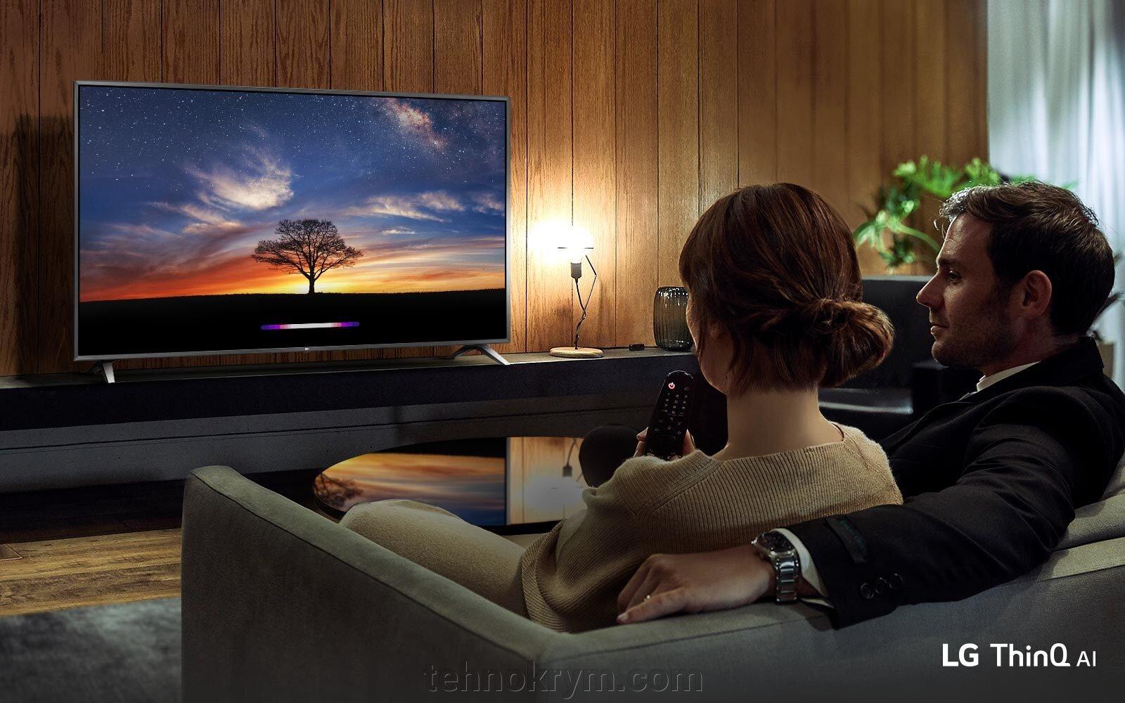 Smart Телевизор LG 49UM7450PLA, Ultra HD 4K, WebOS 4.5 - фото LG 49UM7450PLA