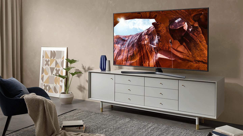 Smart телевизор Samsung UE43RU7400UXRU, Ultra HD, ОС Tizen 5.0 - фото Samsung UE43RU7400UXRU