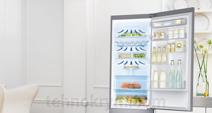 Двухкамерный холодильник Samsung RB37J5200WW c инверторным компрессором - фото Samsung RB37J5200WW