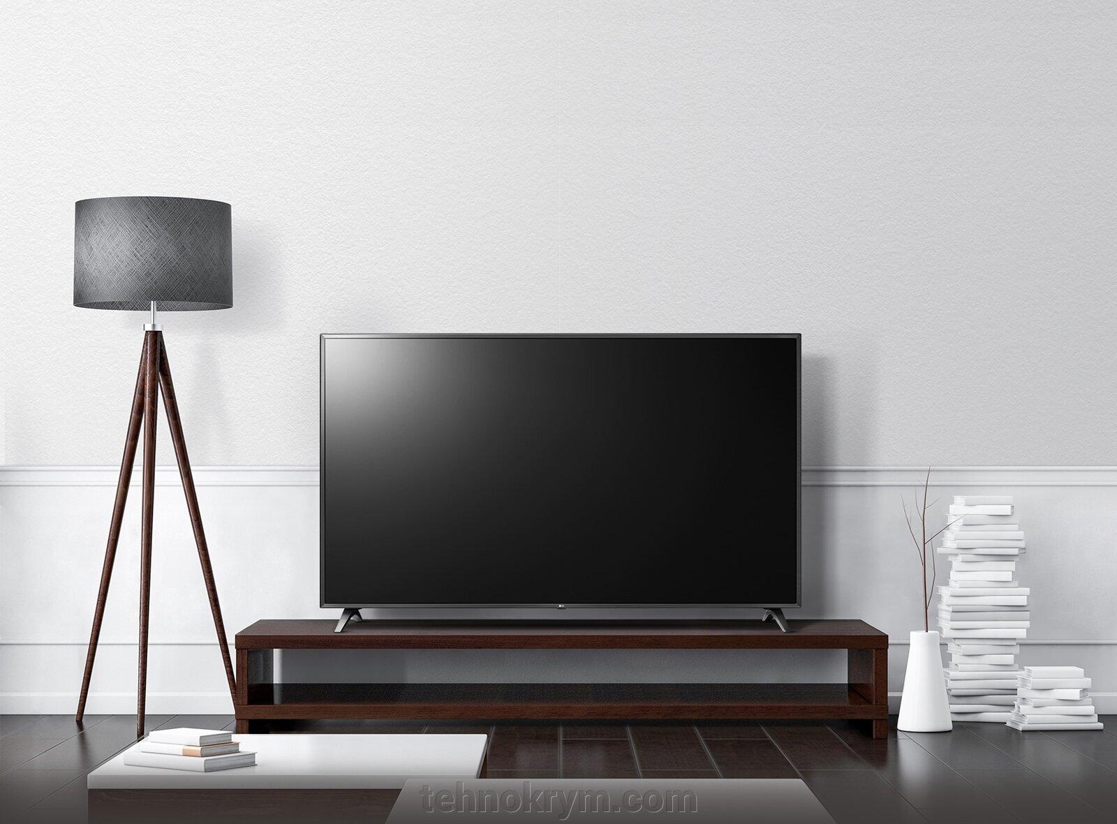 Smart телевизор LG 43UM7500PLA, Ultra HD, титан, webOS 4.5 - фото Телевизор LG 43UM7500PLA