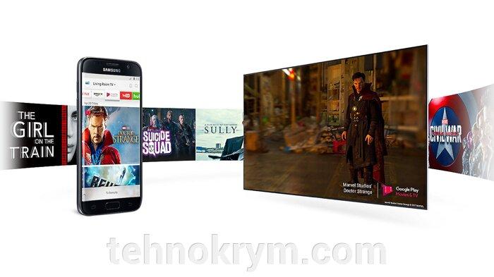 Smart телевизор Samsung UE32M5500AU, титан, ОС Tizen 3.0 - фото Samsung UE32M5500AUXRU