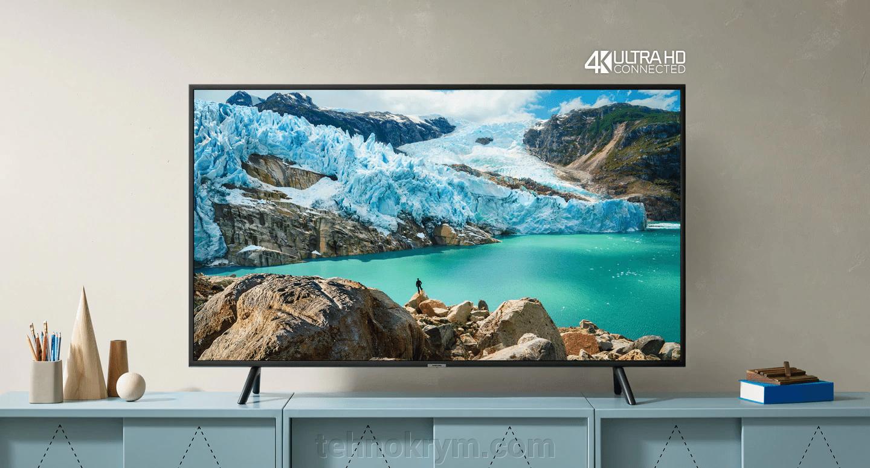 Smart телевизор Samsung UE55RU7100UXRU, Ultra HD, ОС Tizen 5.0, новинка 2019 года - фото Samsung UE55RU7100UXRU