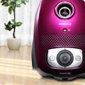 Пылесос Samsung VCJG246V с мешком для сбора пыли, фиолетовый - фото Samsung VCJG246V