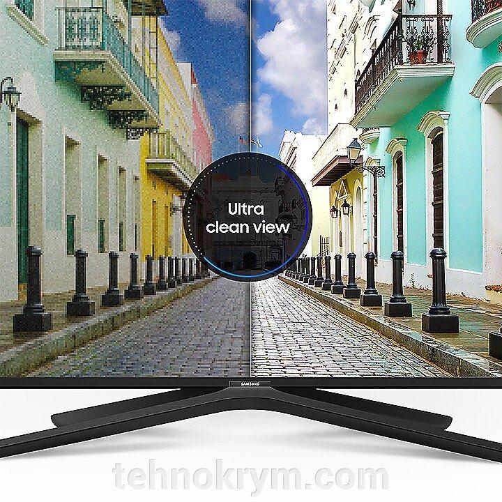 Smart телевизор Samsung UE43N5510, белый, ОС Tizen 4.0, модельный ряд 2018 года - фото Samsung UE43N5510
