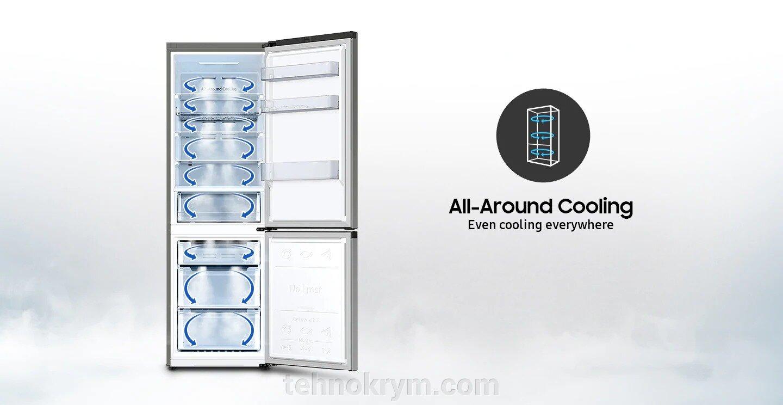 Двухкамерный холодильник Samsung RB34T670FBN/WT - фото pic_1262db65e65f1b21ce6800ec7db9071b_1920x9000_1.jpg