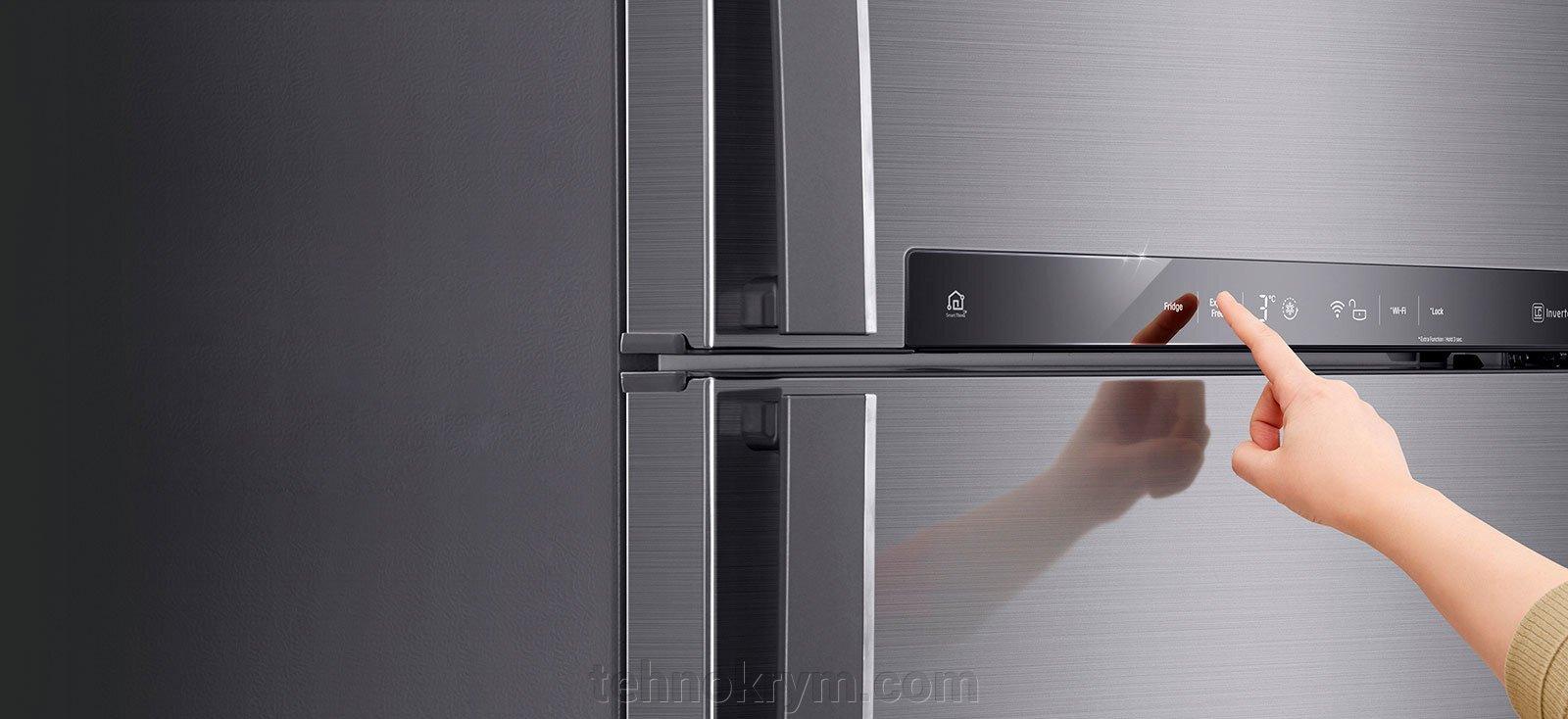 Двухкамерный холодильник LG GC-H502HEHZ, бежевый - фото pic_478e2febcd252c44c7ce11d1314eb73f_1920x9000_1.jpg