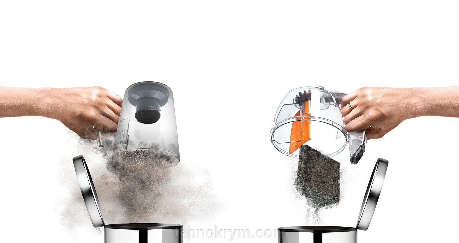 Пылесос LG VK89601HQ, с автоматической системой прессования пыли Kompressor - фото LG VK89601HQ
