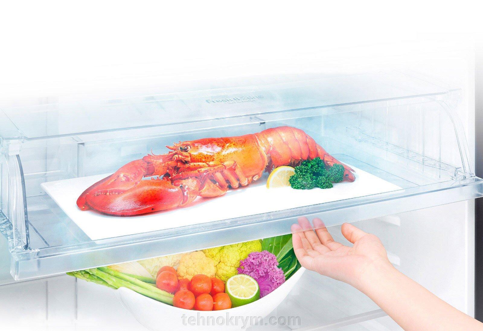 Двухкамерный холодильник LG GC-H502HEHZ, бежевый - фото pic_4a31787c32b4825b23dcaa617f15af40_1920x9000_1.jpg