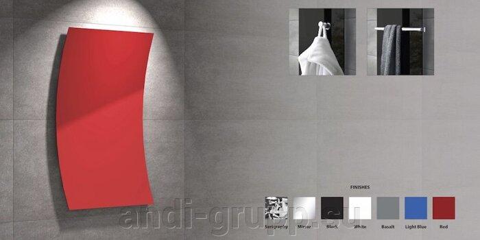 Дизайнерские радиаторы «Волна» M-605/0,60 цветные - фото Дизайнерские радиаторы отопления