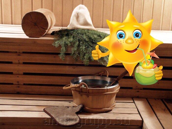 Солнечный коллектор для бани